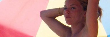 Sienna Miller Topless In Spain